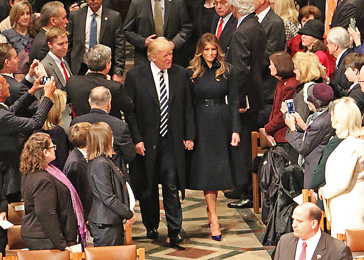 President Donald J. Trump National Prayer Service